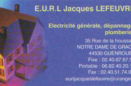ETS LEFEUVRE electricite plomberie