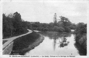 NDG - Le canal, l'Ecluse, le Barrage de Melneuf